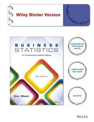 Business Statistics By Black, Ken